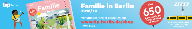 Tip - Familie in Berlin 2018